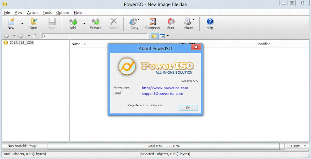 Download Power ISO 5.5 + Serial Number Keygen Full Version