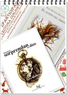 """Lectura conjunta y tertulia """"Mientras sorprendan los días"""" y """"El sueño del árbol"""" de Sara Mañero"""