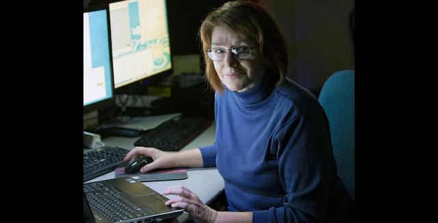 Judit Györgyey-Ries at the McDonald Observatory. Credit: Ethan Tweedie Photography