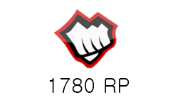 League of Legends 1780 RP