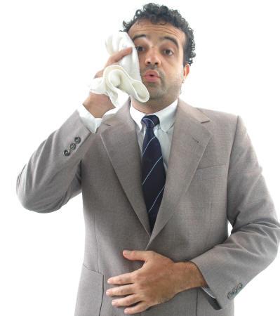 هل يمكن أن يسبب التوتر رائحة جسم كريهة ؟