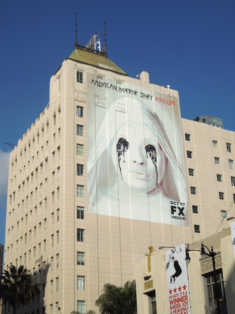 Daily billboard halloween week american horror story for American horror story wall mural