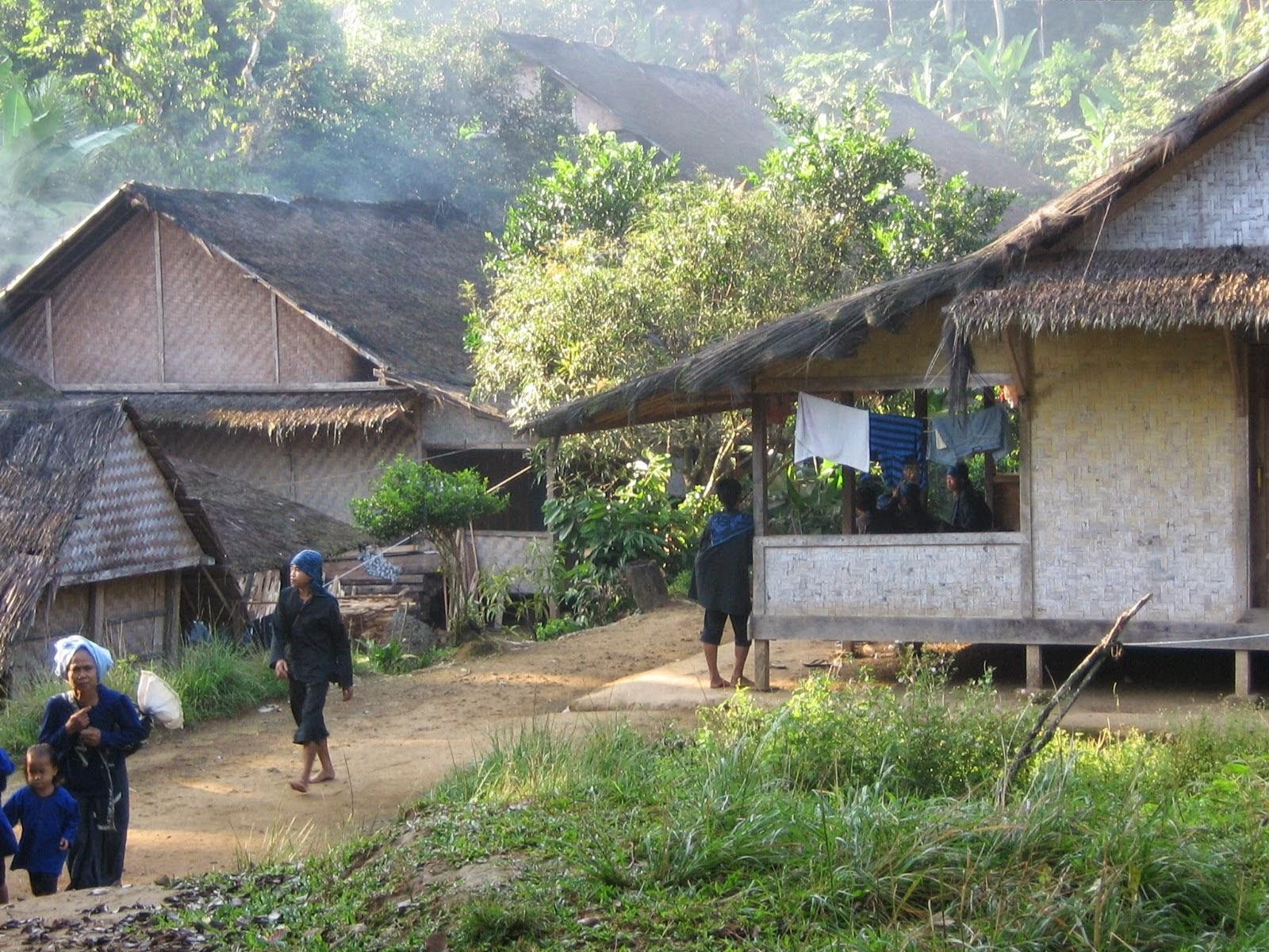 Mengenal Rumah Adat Suku Baduy Dalam | Rumah bagi masyarakat Baduy ...