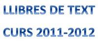 LLIBRES DE TEXT CURS 2011-12