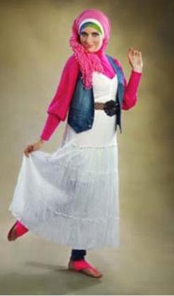 Hijab rose