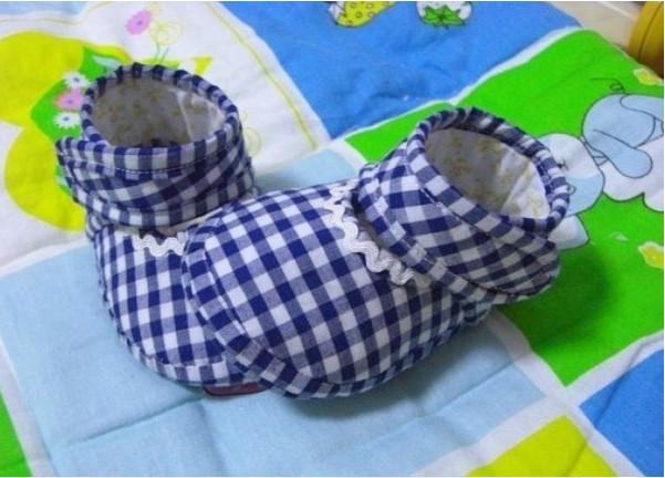 Пинетки из ткани