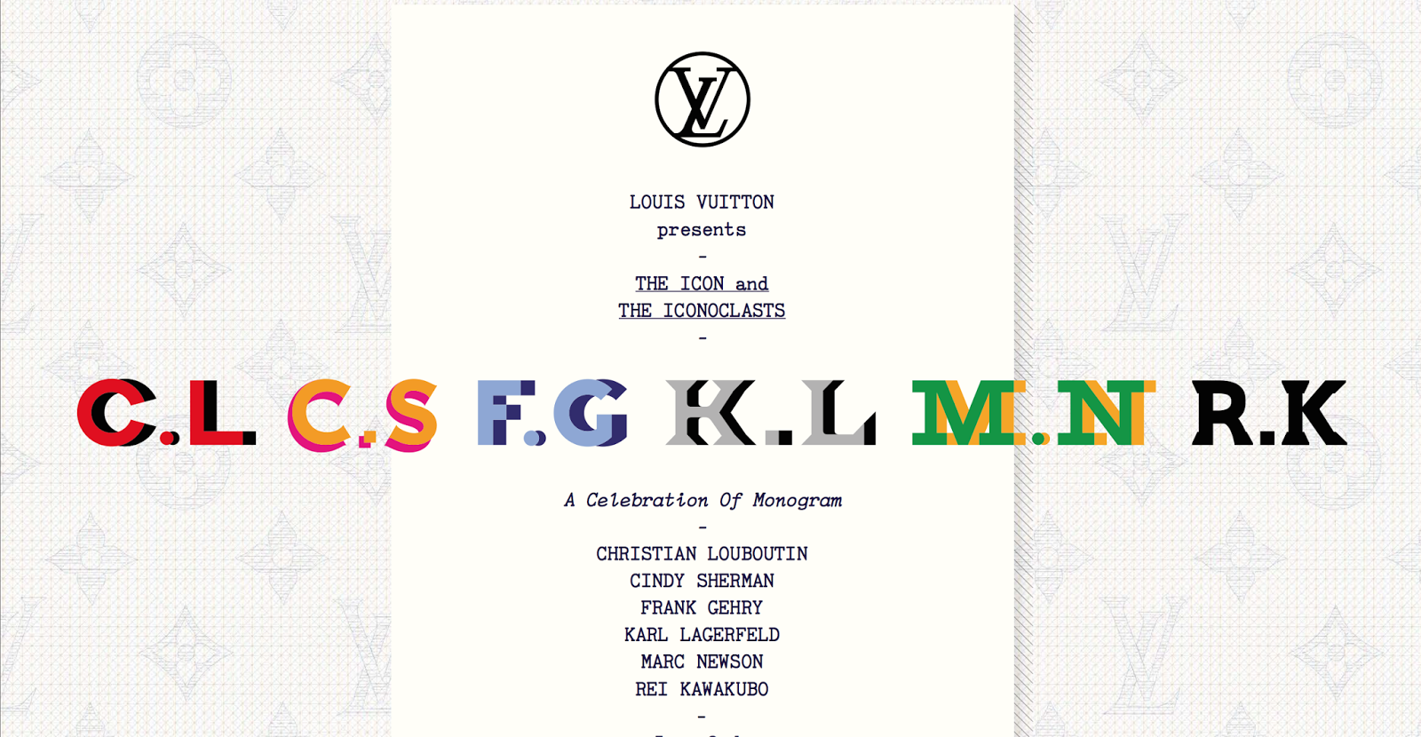 Louis Vuitton Collaborates With Fashion's Biggest Names for Icon & Iconoclasts Project