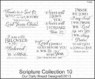 Our Daily Bread Designs, Scripture Collection 10