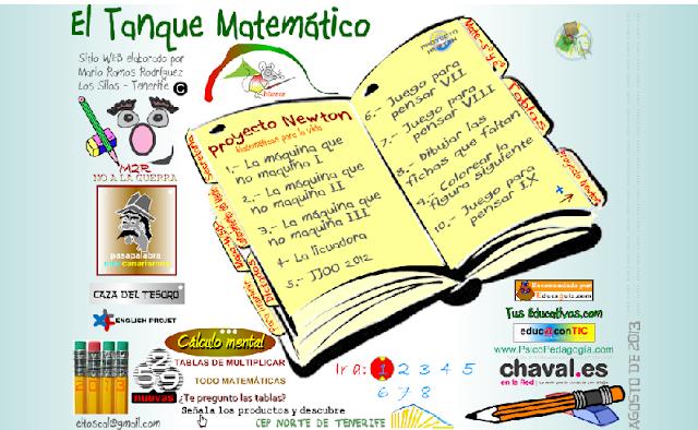 http://www2.gobiernodecanarias.org/educacion/17/WebC/eltanque/default.htm