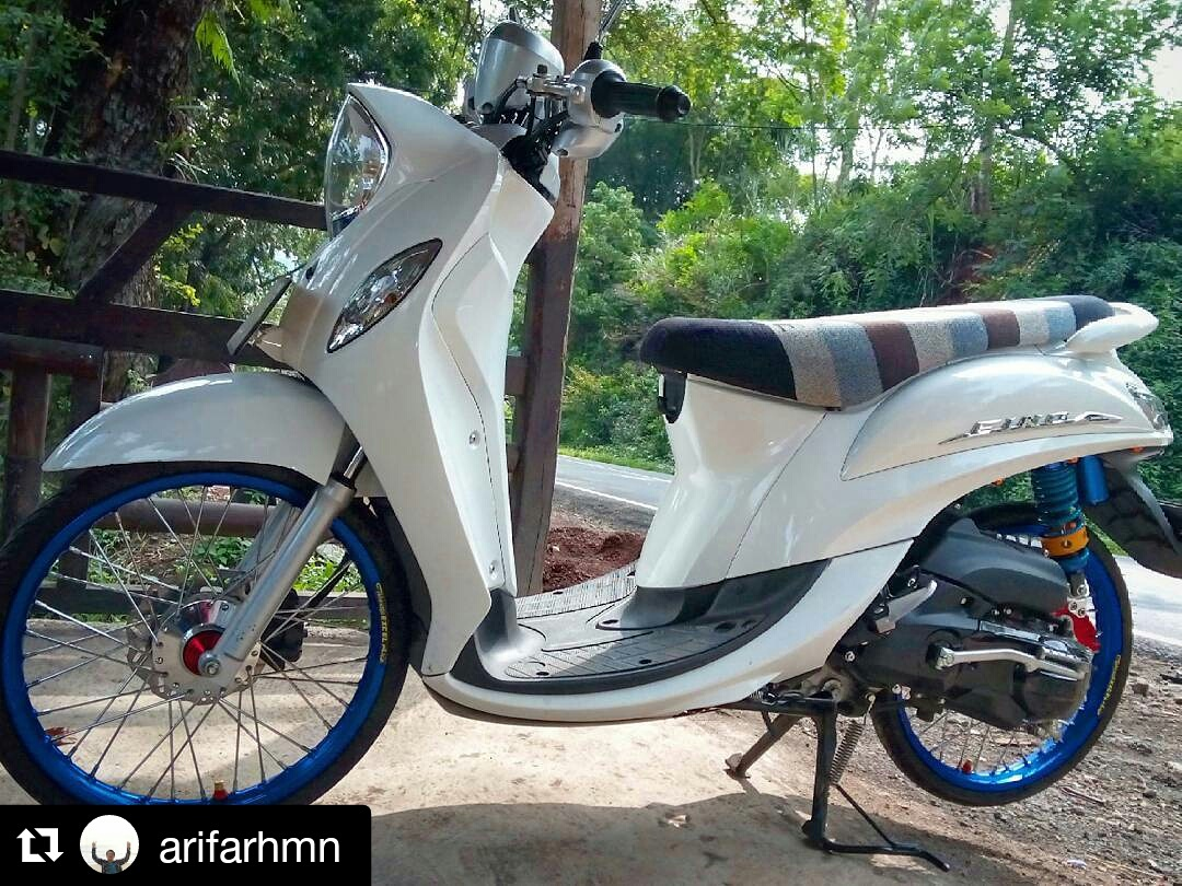 Download Koleksi 46 Modifikasi Motor Mio Fino 2018 Terkeren Sendal
