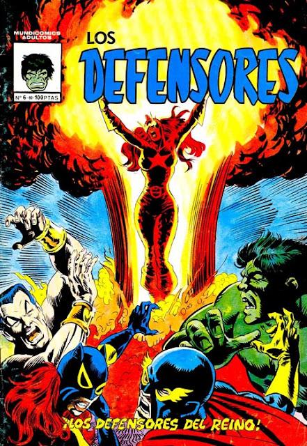 Portada de Los Defensores Mundicomics Nº 6 Ediciones Vértice