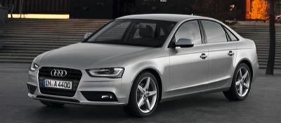 2013 Audi A4 silver sedan