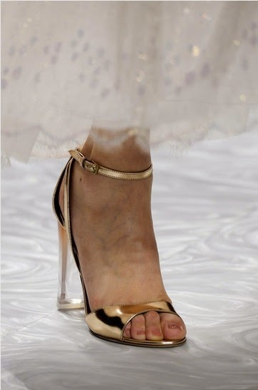 Monique Lhuillier Spring 2015 Shoe