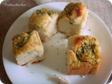 garlic rolls-garlic pull apart rolls