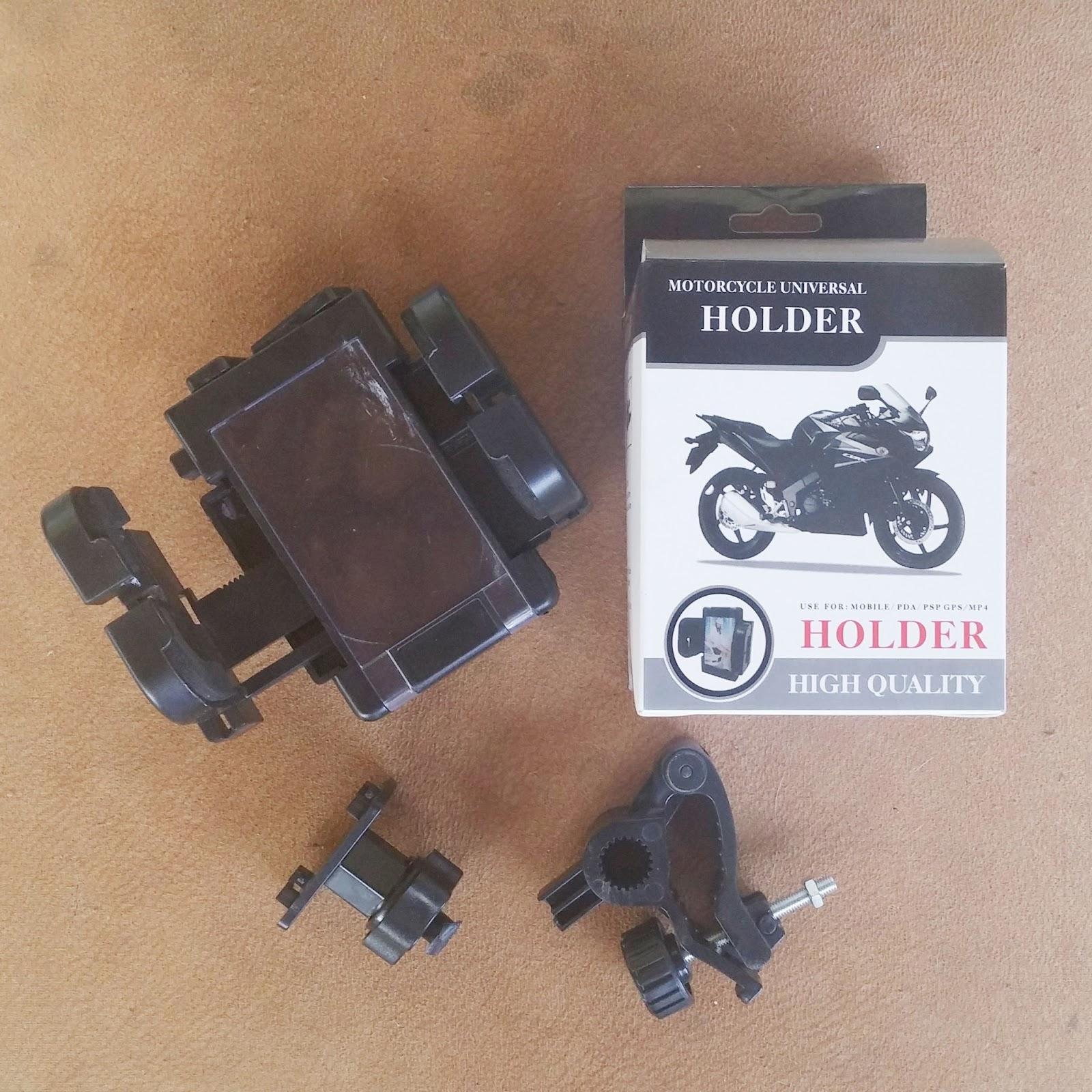 Suporte de moto para GPS.