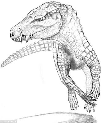 恐龍殺手 波羅鱷 - 狗頭犬齒的波羅鱷 Pissarrachampsa sera 是「恐龍殺手」!