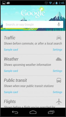 tutorial configure google now