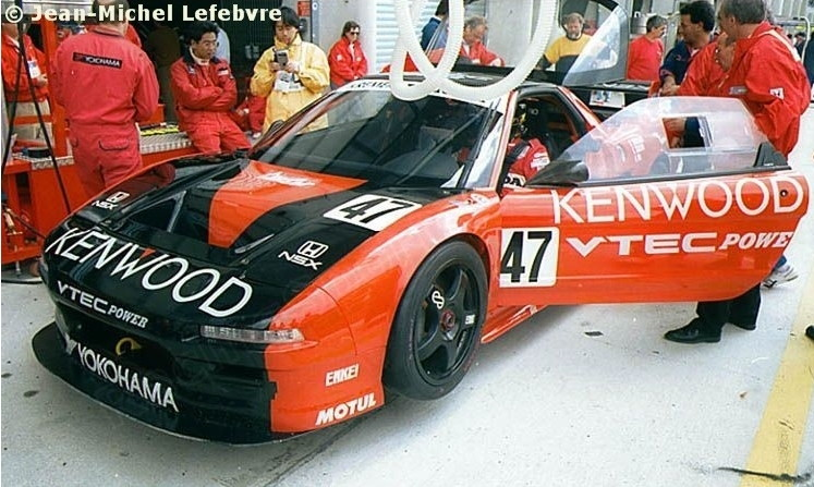 Honda NSX japoński supercar sportowy samochód kultowy V6 RWD VTEC wyścigi racing Le Mans 日本車 ホンダ アキュラ