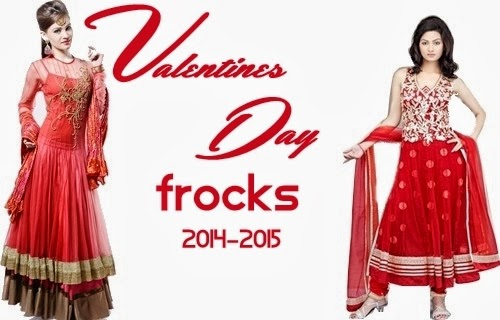 Valentine Day Frocks