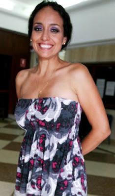 Sara Manrique delgada