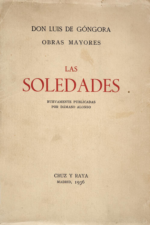 LAS SOLEDADES de Góngora