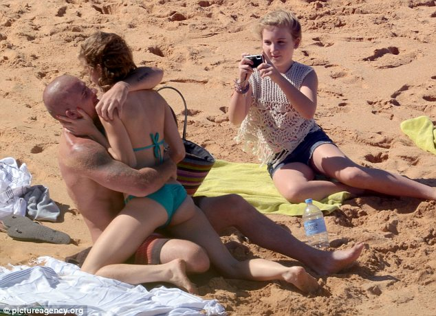 Snaps His Saucy Beach Behaviour With Girlfriend Annalynne Mccord