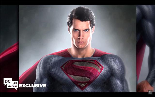 スーパーマン コンセプトアート