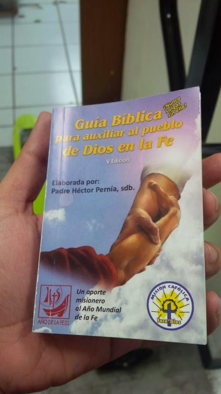 GUÍA BÍBLICA PARA AUXILIAR AL PUEBLO DE DIOS EN LA FE (V Edición)