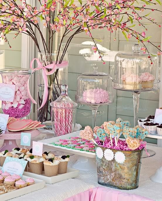 love this tablescape - Baby Shower Tablescapes Ideas