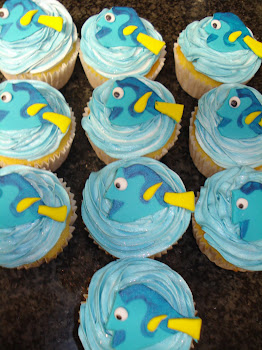 Dory Cupcakes