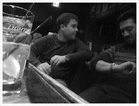 Chris Britt & Jonathan Maneri at Jerry Remy's Bar in Boston