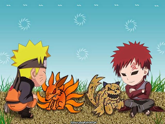 Gambar Gambar Lucu Naruto Dan Monster