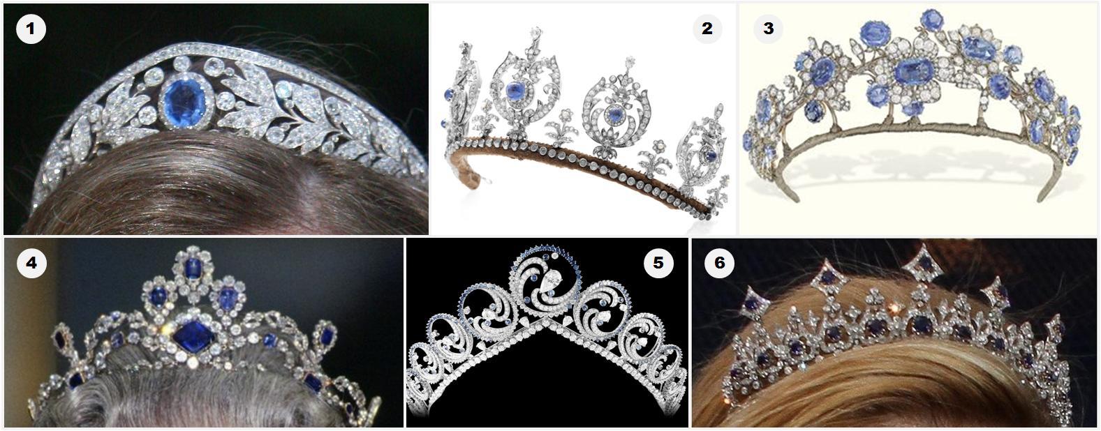The Royal Order Of Sartorial Splendor Readers Ultimate Tiaras Pick Your Sapphire