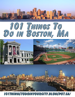 101 Things To Do 101 Things To Do In Boston