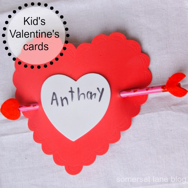 Somerset Lane Ideas for Kids Valentines Cards – How to Make a Valentine Cards