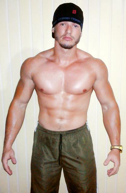 O Grilo-sauro Douglas Santos. Foto: Arquivo pessoal