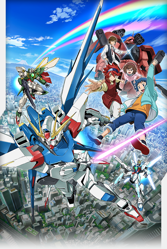 Gundam Build Fighters  -  Anime Vietsub