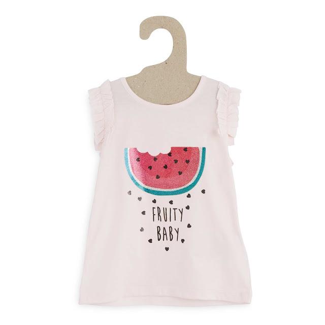 T-shirt petite fille kiabi imprimé pastèque