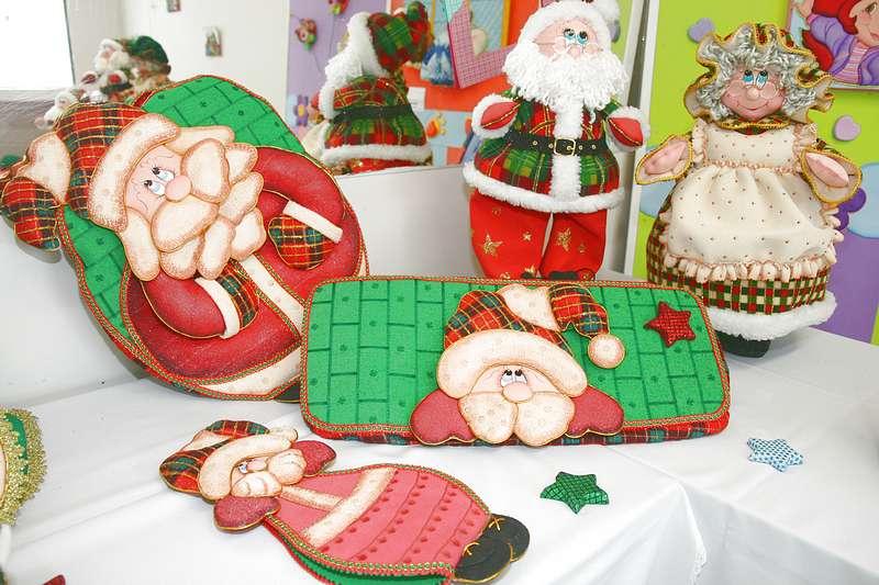 Decorar baño navidad: adornos de navidad en fieltro. diy cojines ...