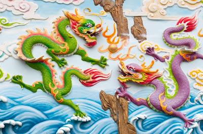 Dragones chinos - Arte y Creatividad