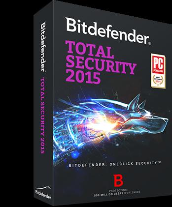 Bitdefender Total Security 2015 License Free for 6 months