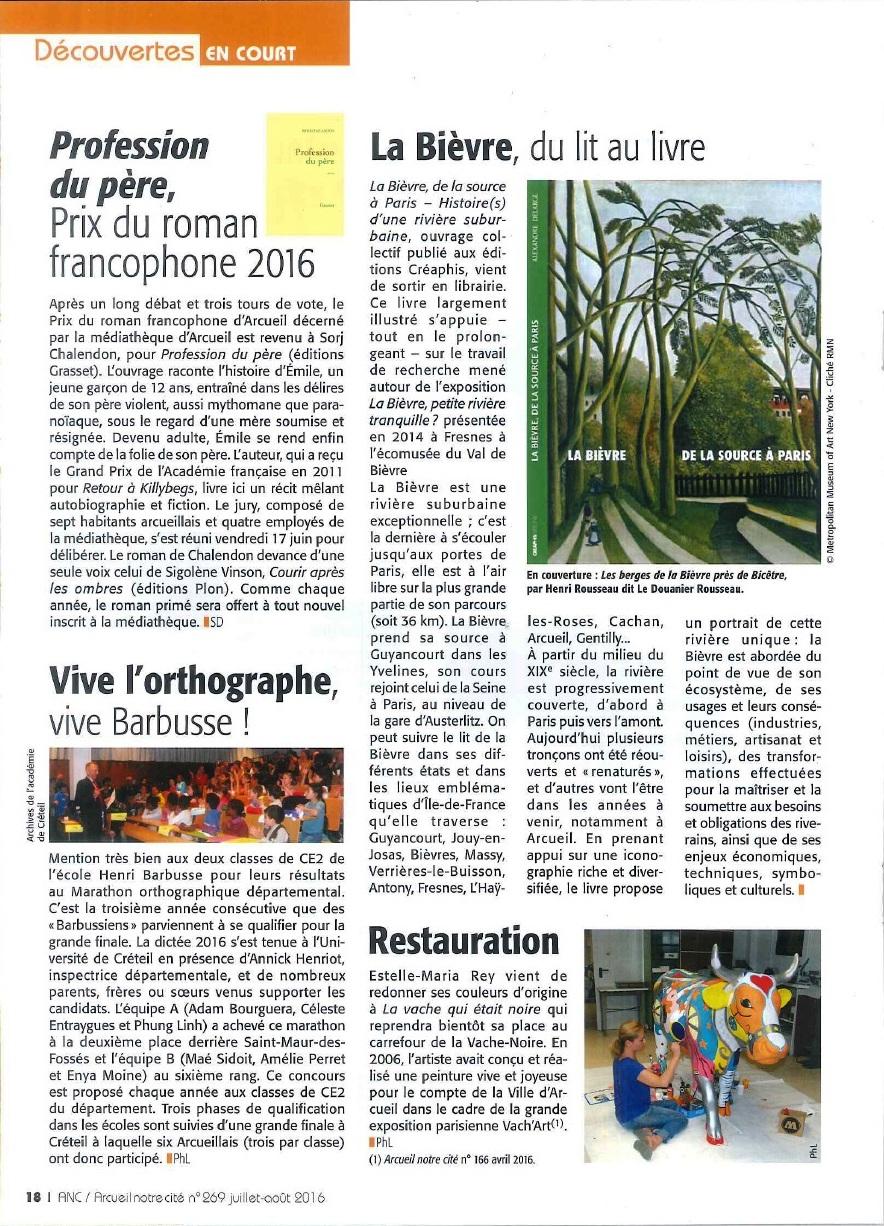 Article Arcueil Notre Cité 269