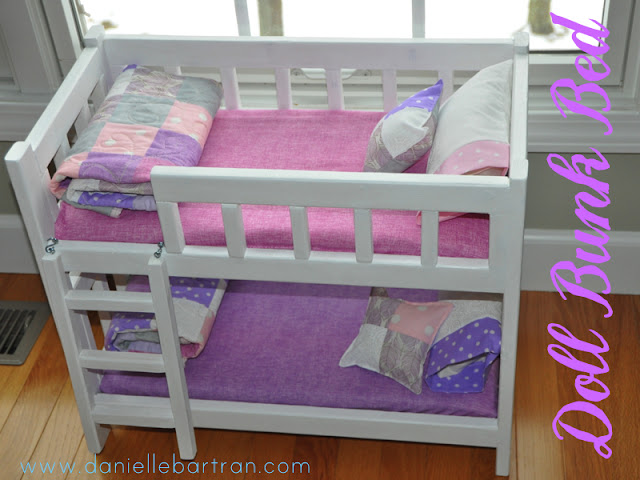 Doll Bunk Bed With Trundle