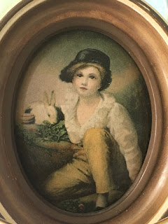 Boy With Bunny