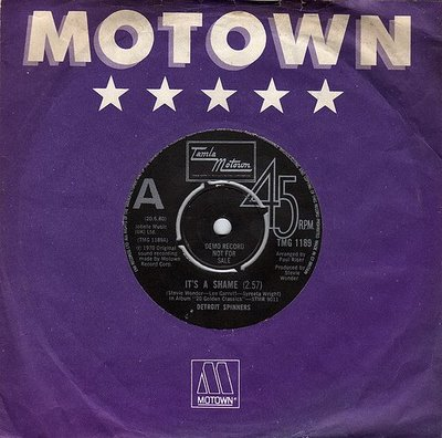 The Motown Spinners Its A Shame