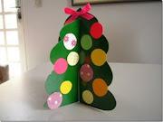 Manualidades Navideñas para niños arbol de navidad