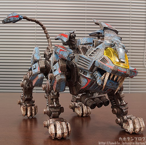 Zoids Shield Liger a day in a zoider's wo...