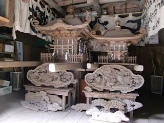 石上神社の神輿