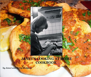 Janet's Cooking at Home Cookbook