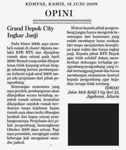 surat pembaca